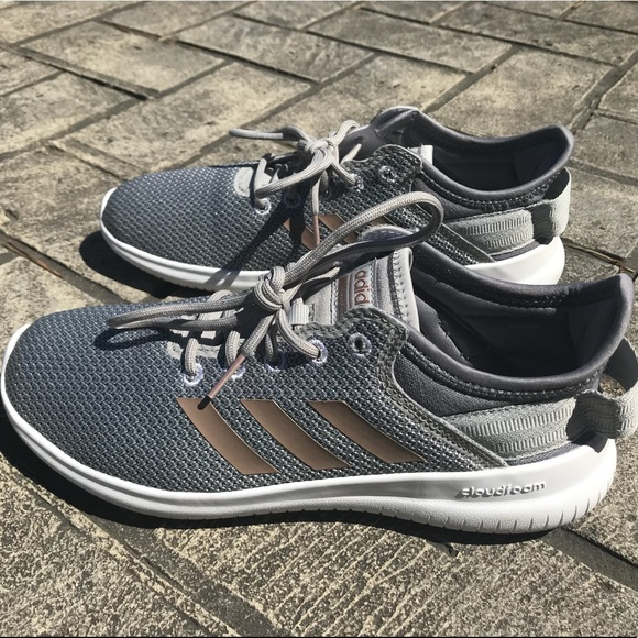 le adidas nwot cloudfoam qt racer scarpa da ginnastica poshmark